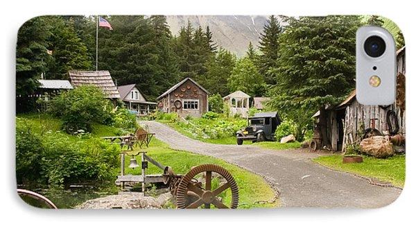 Old Mining Alaskan Town IPhone Case