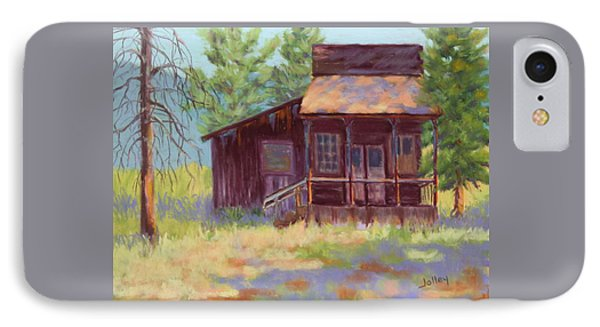 IPhone Case featuring the painting Old Mining Store by Nancy Jolley