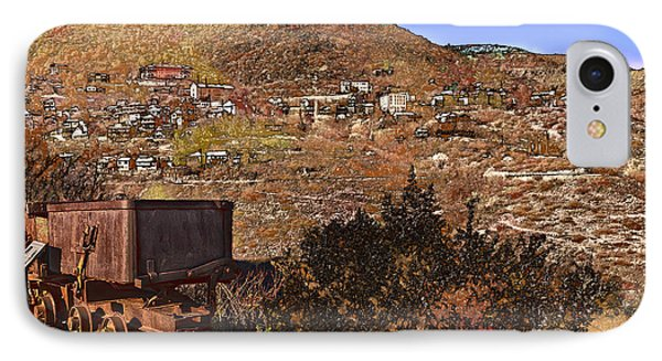 Old Mining Town No.24 IPhone Case by Mark Myhaver