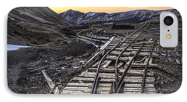 Old Mining Tracks Phone Case by Aaron Spong