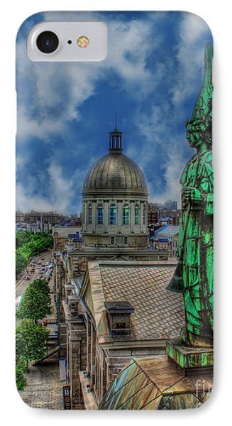 Old Montreal Angel IPhone Case