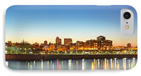 Old Montreal By Night Panorama  IPhone Case