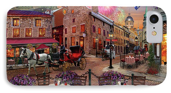 Old Montreal IPhone Case by David M ( Maclean )