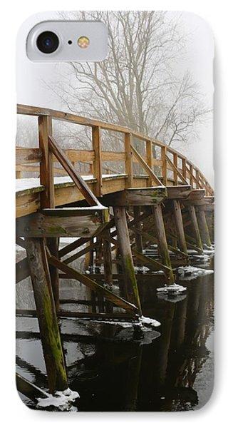 Old North Bridge IPhone Case