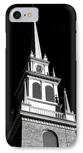 Old North Church Star Phone Case by John Rizzuto