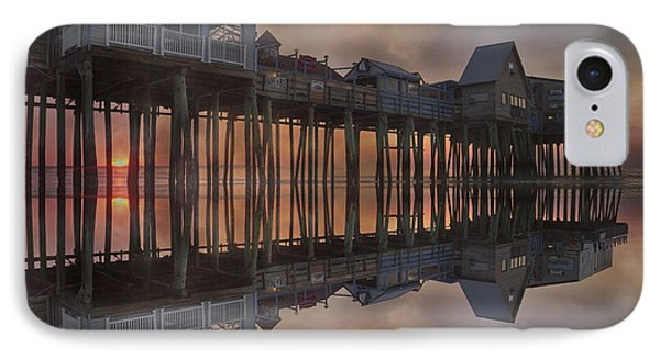 Old Orchard Pier Reflection IPhone Case