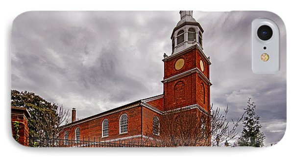 Old Otterbein Country Church IPhone Case by Bill Swartwout
