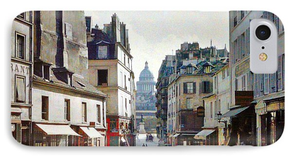 Old Paris IPhone Case by Bill OConnor