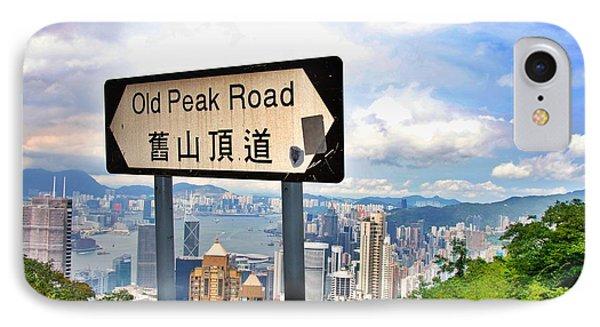 Old Peak Road  IPhone Case by Sarah Mullin
