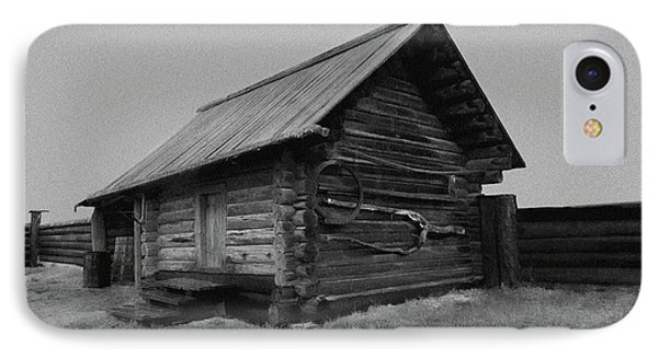Old Peasant House 2 IPhone Case by Evgeniy Lankin