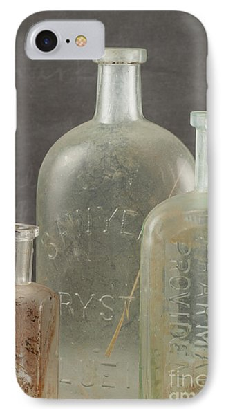 Old Pharmacy Bottle IPhone Case by Juli Scalzi