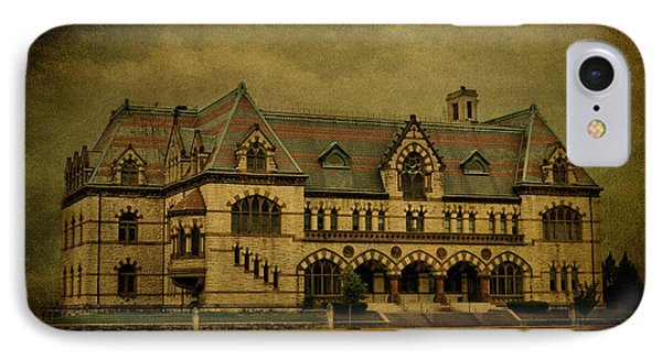 Old Post Office - Customs House Phone Case by Sandy Keeton