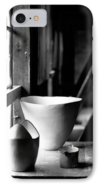 Old Pots At The Window IPhone Case