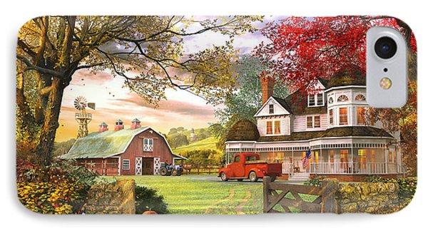 Old Pumpkin Farm IPhone Case by Dominic Davison
