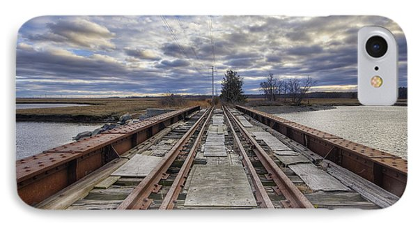 Old Rail Bridge IPhone Case by Eric Gendron