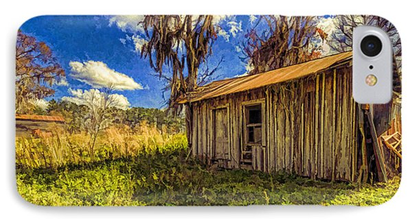 Old Ranch Hand Shack IPhone Case by Lewis Mann