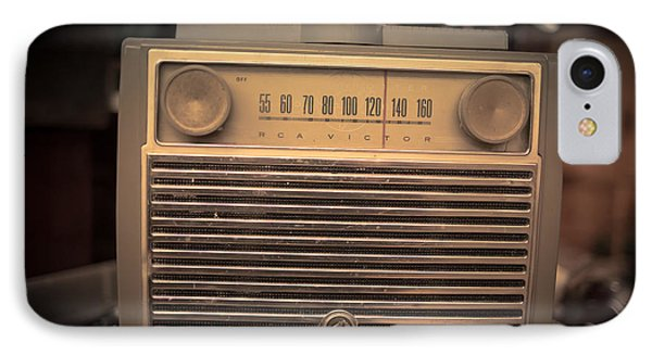 Old Rca Victor Antique Vintage Radio IPhone Case by Edward Fielding