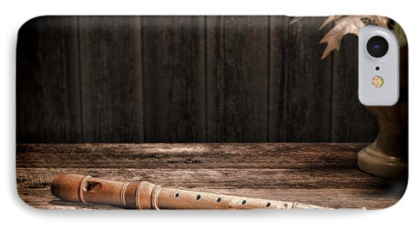 Old Recorder Phone Case by Olivier Le Queinec