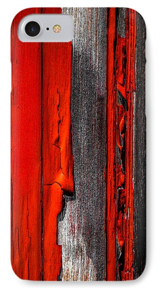 Old Red Barn Four Phone Case by Bob Orsillo