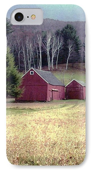 Old Red Barn IPhone Case by John Scates