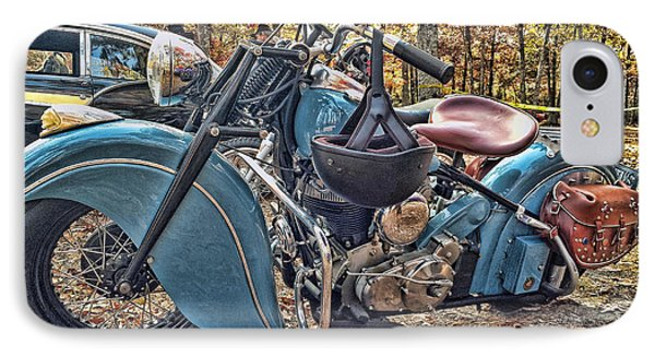 Pale Blue Rider IPhone Case