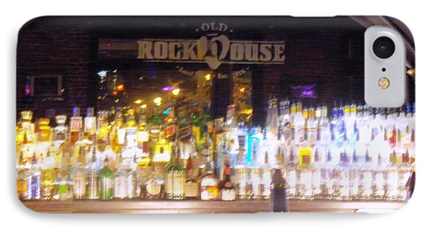 IPhone Case featuring the photograph Old Rock House Bar by Kelly Awad