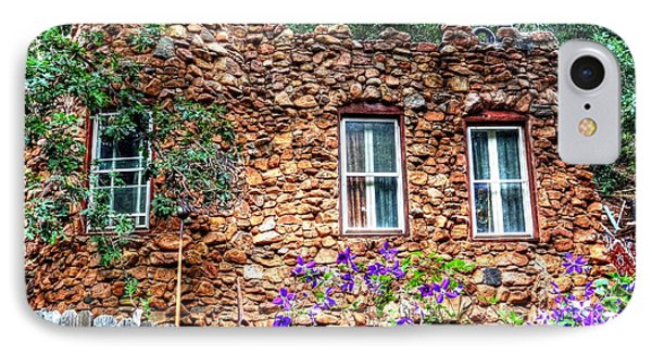 IPhone Case featuring the photograph Old Rock House In Williams Canyon by Lanita Williams