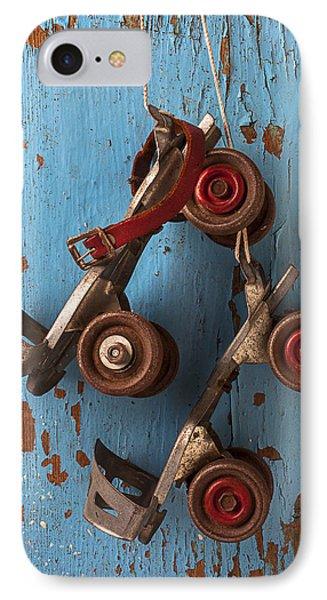 Old Roller Skates Phone Case by Garry Gay