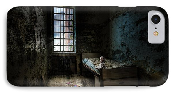 Old Room - Abandoned Places - Room With A Bed Phone Case by Gary Heller