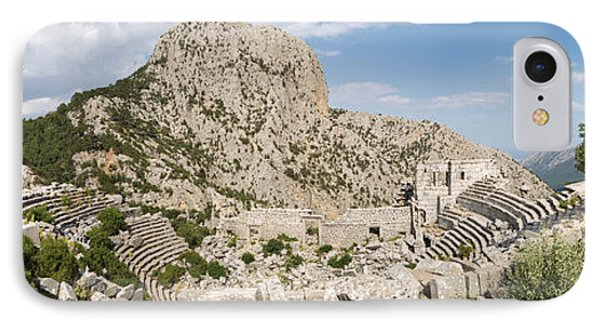 Old Ruins Of An Amphitheater IPhone Case by Panoramic Images