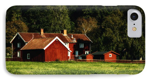 Old Rural Farm 17th Century IPhone Case by Christian Lagereek