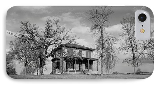Old Rustic House On A Hill IPhone Case
