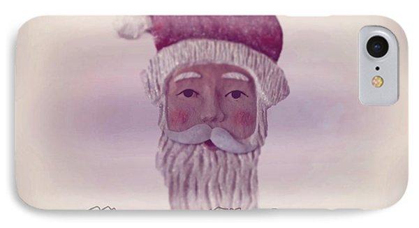 Old Saint Nicholas Greeting Card IPhone Case by David Dehner