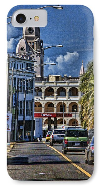 Old San Juan Cityscape IPhone Case