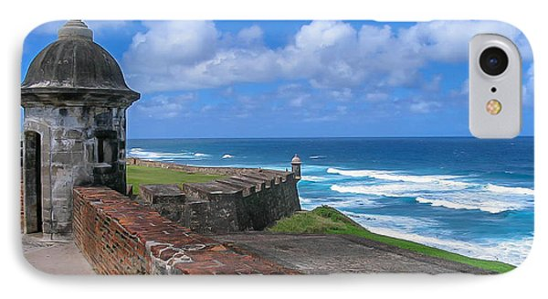 Old San Juan Puerto Rico  IPhone Case by Trace Kittrell