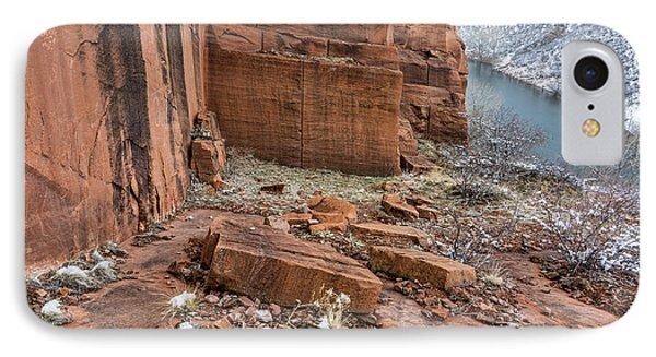 Old Sandstone Quarry IPhone Case