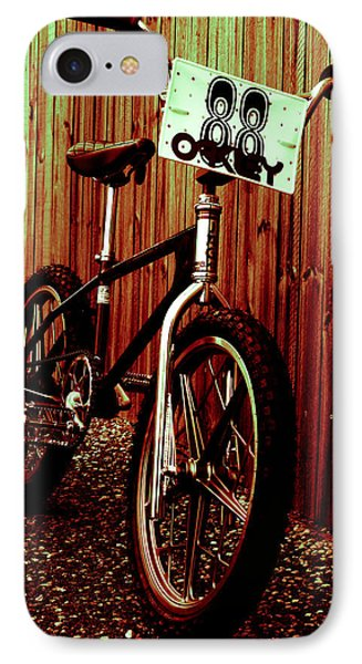 Old School Bmx - Jag Phone Case by Jamian Stayt