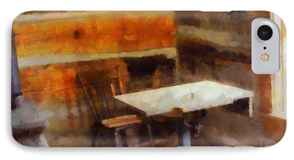 Old School Desk IPhone Case by Dan Sproul