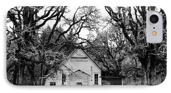 Old School House In The Woods Phone Case by Thomas J Rhodes