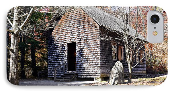 Old Schoolhouse Building Phone Case by Susan Leggett