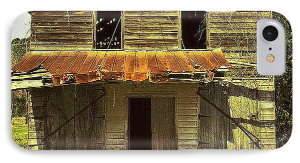 IPhone Case featuring the photograph Old Seabrook House by Patricia Greer