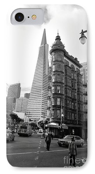 Old Sentinel - New Transamerica IPhone Case by David Bearden