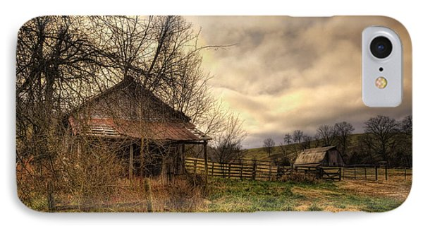 Old Shed And Barn At Osage IPhone Case
