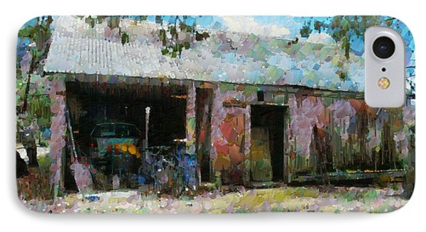 Old Shed Near Braidwood IPhone Case