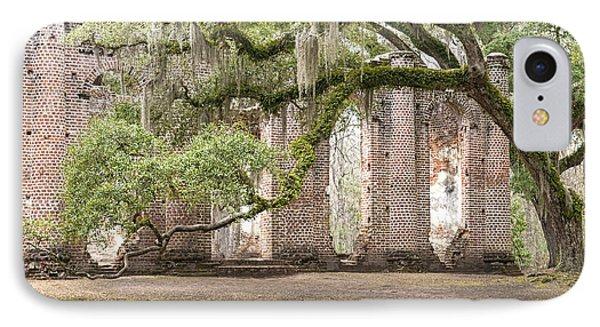 Old Sheldon Church - Bent Oak IPhone Case by Scott Hansen