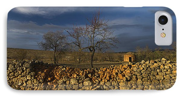 Old Shepherd's Hut Phone Case by Guido Montanes Castillo