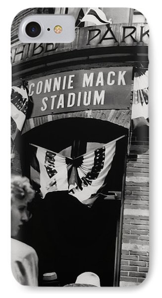Old Shibe Park - Connie Mack Stadium IPhone Case