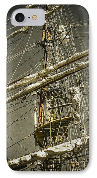 Old Ship IPhone Case by Carlos Caetano