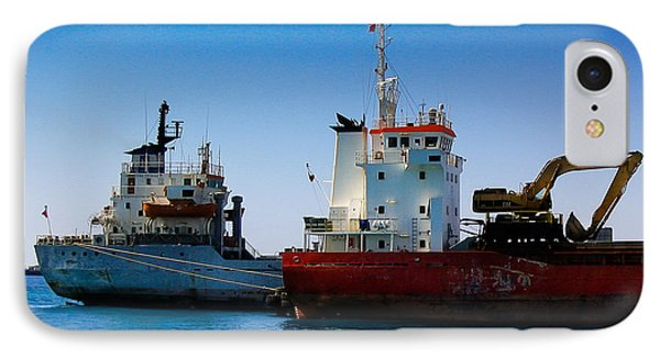 IPhone Case featuring the photograph Old Ships by Kevin Desrosiers