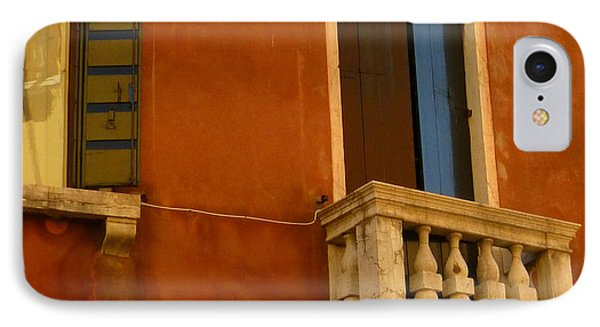 Venetian Old Sienna Walls  IPhone Case
